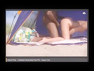 Helena Price Caribbean Nude Beach Sex The Complete Video