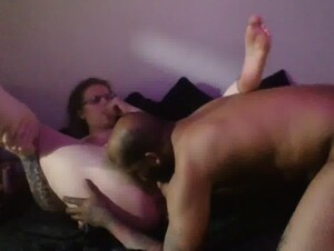 Really Sexy MILF Cums all over the Neighbors Huge Dick